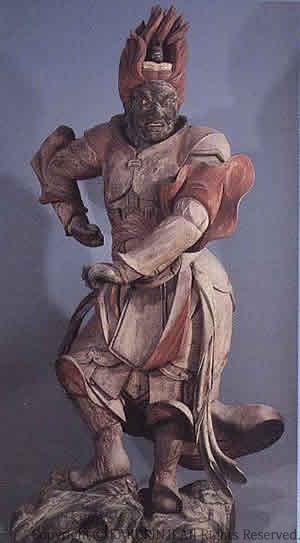十二神将より伐折羅大将像