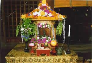 花祭り (納骨・納髪・塔婆回向)